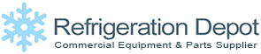 Refrigeration Depot Commercial Equipment and Parts Supplier Logo